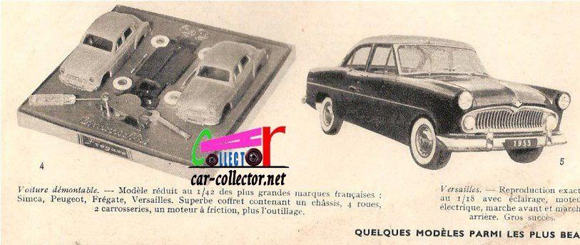 CATALOGUE JEUX ET JOUETS 1955