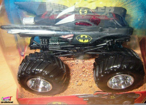 BATMAN MONSTER JAM HOT WHEELS