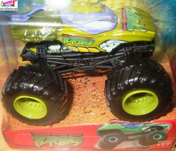 TURTLES MONSTER JAM HOT WHEELS 1/64