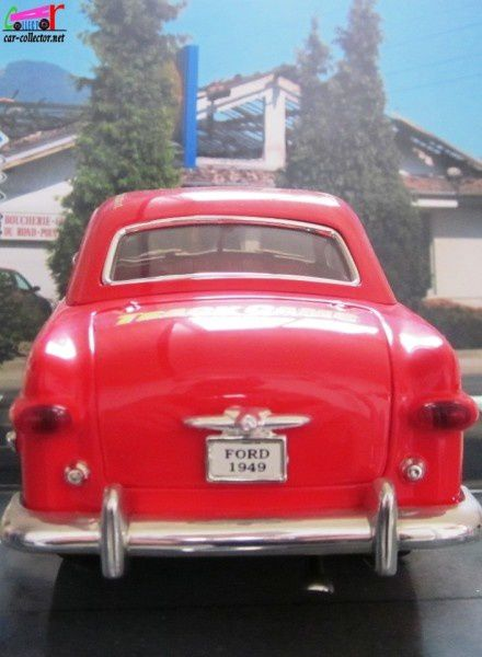 FORD BERLINE 1949 PANAMERICAINE SOLIDO 1/18 FORD PANAMERICANA MEXICO 2002