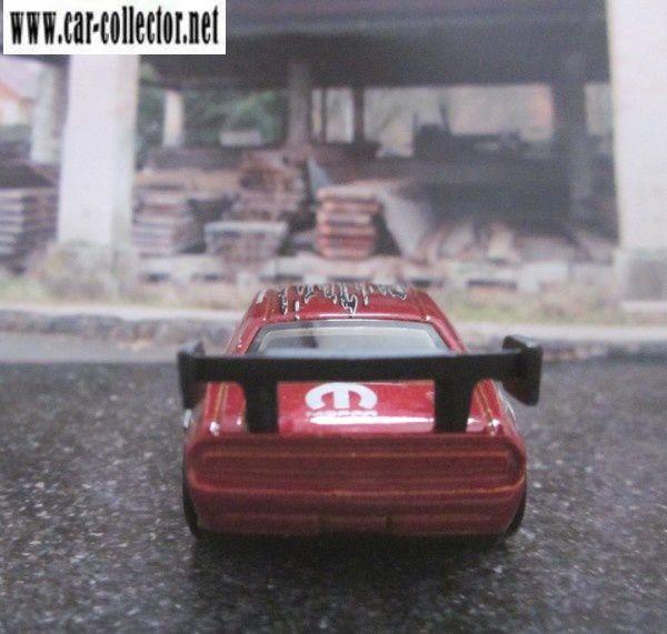 DODGE CHALLENGER DRIFT CAR SAMUEL HUBINETTE HOT WHEELS 1/64