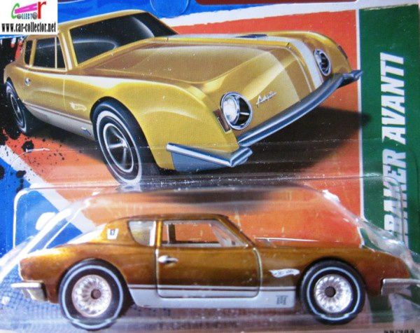 1963 STUDEBAKER AVANTI HOT WHEELS 1/64