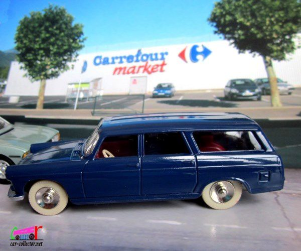 FASCICULE N°7 PEUGEOT 404 COMMERCIALE DINKY TOYS 1/43 REEDITION ATLAS