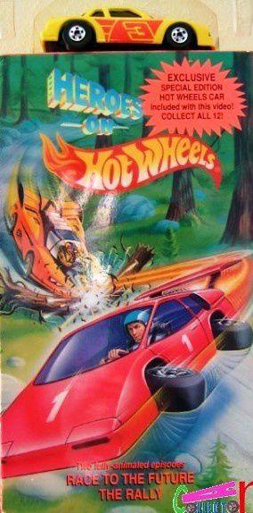 PACK K7 VIDEO HOT WHEELS + BUICK STOCKER CASSETTE VHS HOT WHEELS 1991 DESSIN ANIME