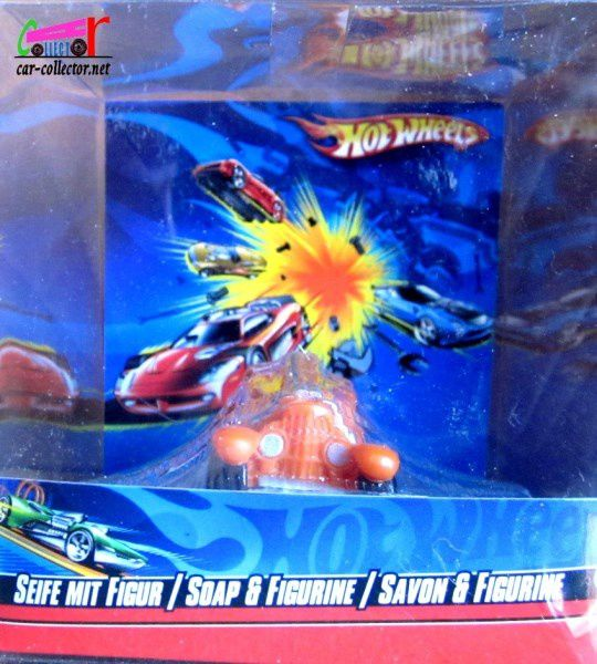 FLOATING SOAP STRAIGHT PIPES HOT WHEELS - SAVON FLOTTANT HOT WHEELS