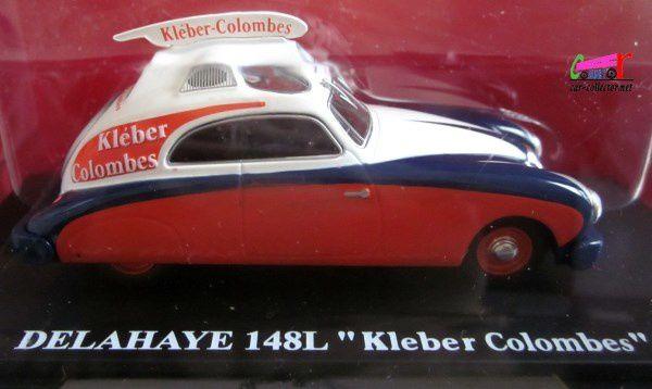 FASCICULE N°2 DELAHAYE 148L KLEBER-COLOMBES IXO 1/43