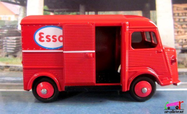"FOURGON CITROEN TYPE H ""ESSO"" DINKY TOYS REEDITION ATLAS 1/43"