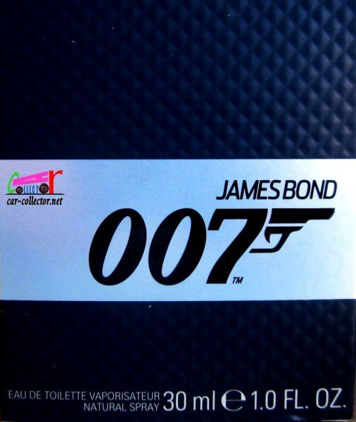FLACON EAU DE TOILETTE JAMES BOND 007