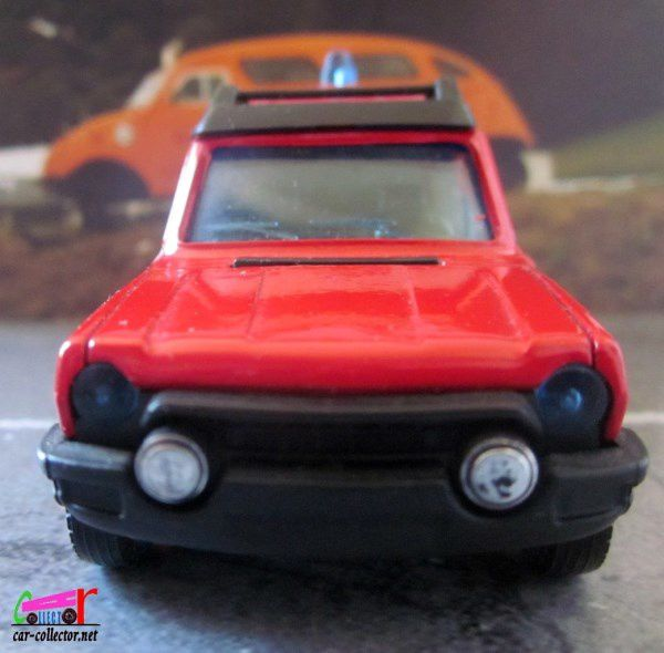 TALBOT MATRA RANCHO POMPIERS SOLIDO 1/43