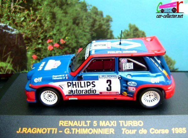 RENAULT 5 R5 MAXI TURBO TOUR DE CORSE 1985