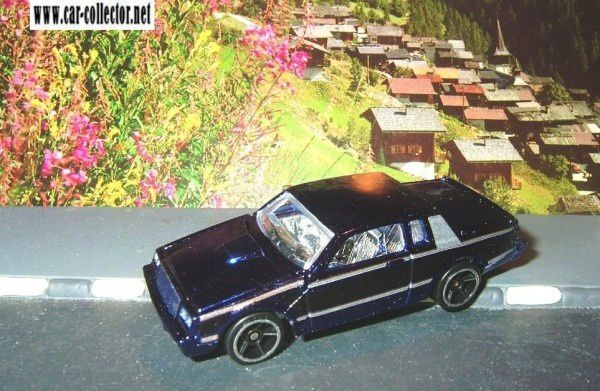 BUICK GRAND NATIONAL HOT WHEELS 1/64
