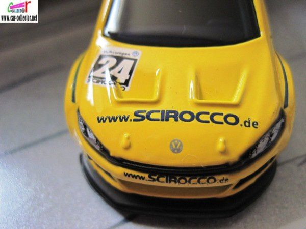 VW SCIROCCO GT24 HOT WHEELS 1/64 VOLKSWAGEN SCIROCCO