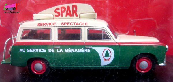 FASCICULE N°9 PEUGEOT 403 BREAK SPAR IXO 1/43