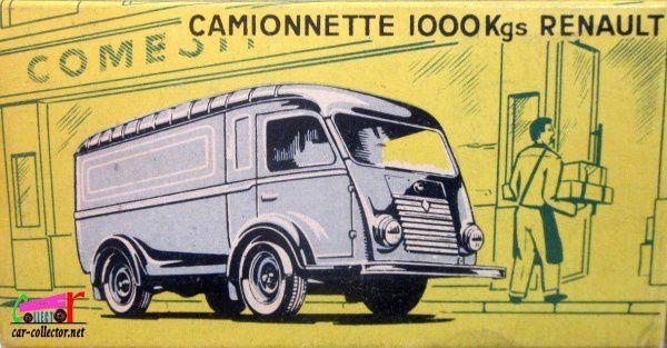 RENAULT 1000 KG POSTES C.I.J 1/45 - CAMIONNETTE POSTES