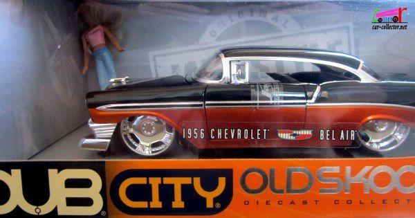CHEVROLET BEL AIR 1956 CUSTOM JADA TOYS 1/18