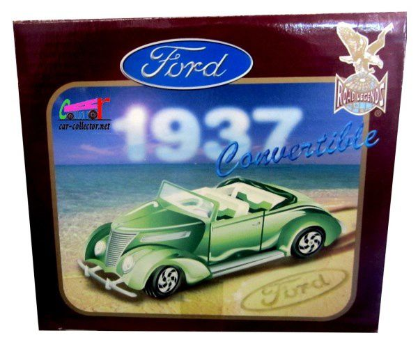 1937 FORD CONVERTIBLE JADA TOYS 1/18