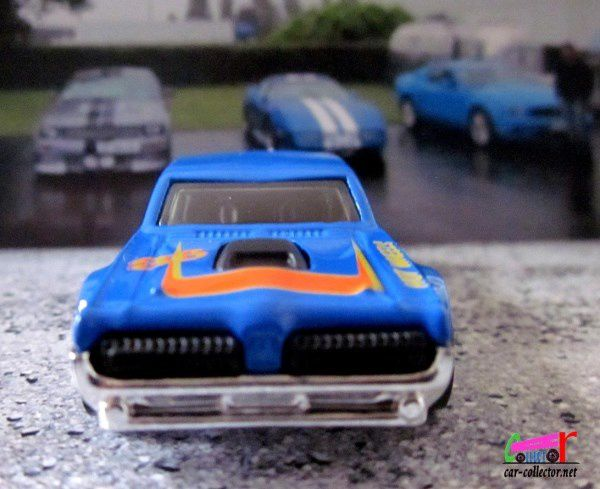 68 MERCURY COUGAR HOT WHEELS 1/64