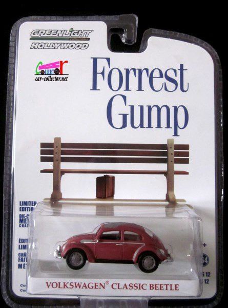 VW COX DU FILM FORREST GUMP AVEC TOM HANKS GREENLIGHT 1/64