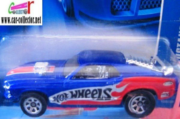 70 FORD MUSTANG MACH 1 HOT WHEELS 1/64