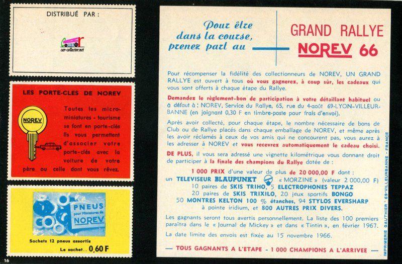 CATALOGUE NOREV 1966 - CATALOG NOREV 1966