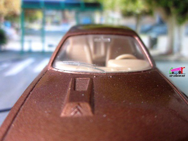 CITROEN CX 2200 1975 PEINTURE MARRON SOLIDO 1/43