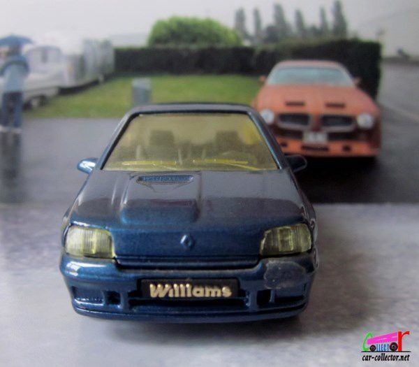 RENAULT CLIO WILLIAMS SOLIDO 1/43