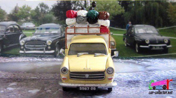 """PEUGEOT 404 PICK-UP TRANSPORT BROUSSE """" LA LIVRAISON DE COTON """" ELIGOR 1/43"""
