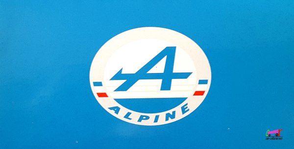 RENAULT ALPINE A110 1600S BANDE ROUGE 1976 IXO 1/43