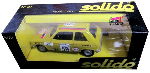 PEUGEOT 104 COUPE ZS 1977 RALLYE D ANTIBES