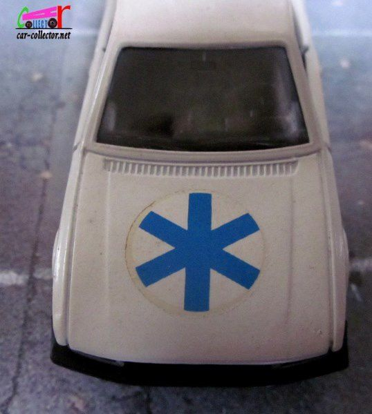 PEUGEOT 505 AMBULANCE SOLIDO 1/43