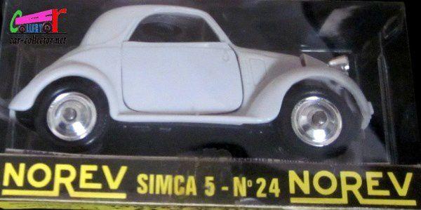 SIMCA 5 1936 LES MINIATURES DE NOREV 1/43