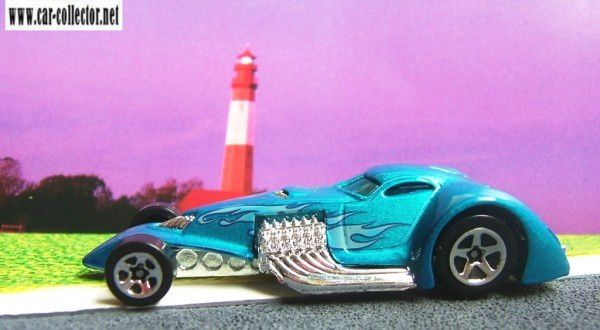HAMMERED COUPE HOT WHEELS 1/64 VOITURE MINIATURE FUTURISTE
