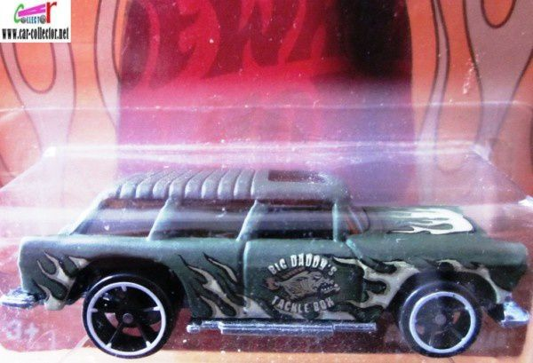 55 CHEVY NOMAD HOT WHEELS 1/64 - CHEVROLET NOMAD CLASSIC