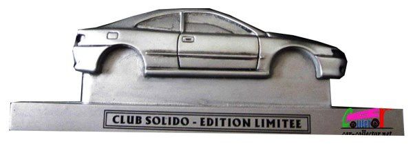 PEUGEOT 406 COUPE EN RESINE CLUB SOLIDO