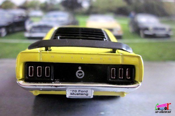FORD MUSTANG BOSS 302 1970 PULL BACK WELLY 1/39