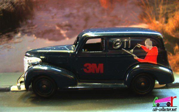 1939 CHEVROLET PANEL VAN 3M DAYS GONE (LLEDO) 1/43