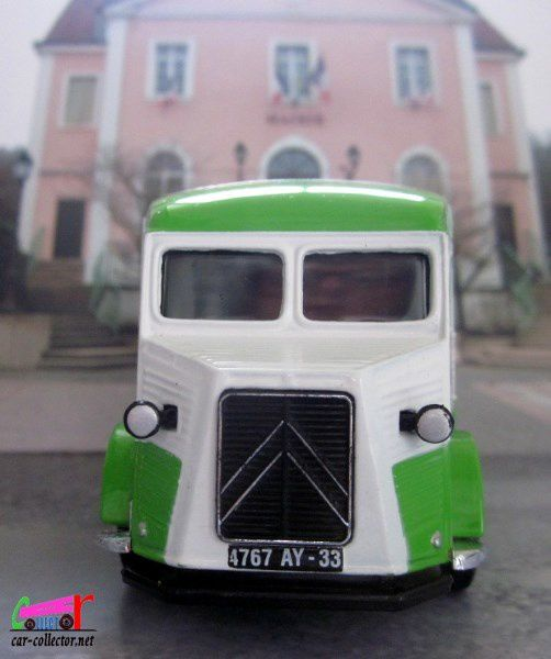 CITROEN TYPE H VAN YOPLAIT 1947 MATCHBOX 1/43