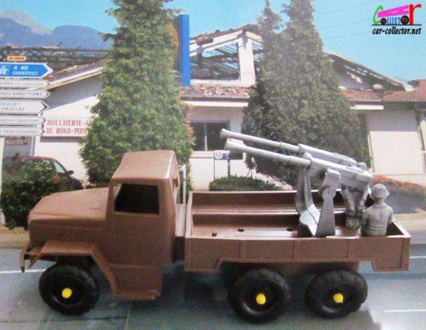 camion militaire feral avec mitrailleuse et soldats 1/35