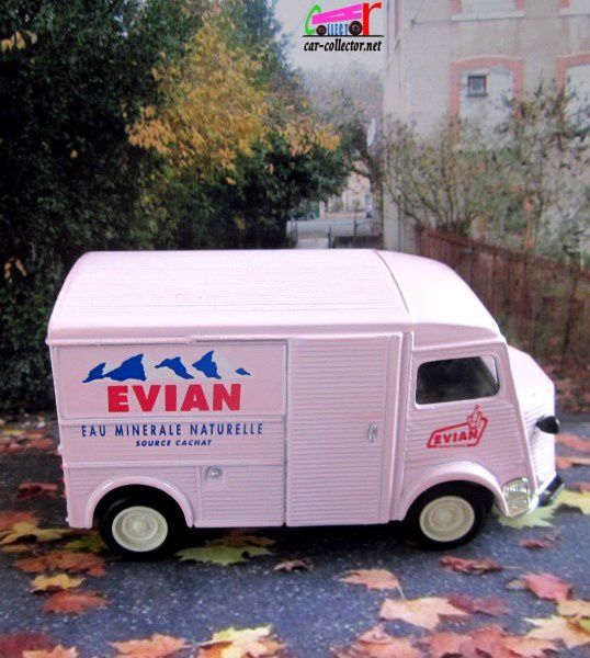 citroen tub type h eau evian 1/43 yesteryear matchbox