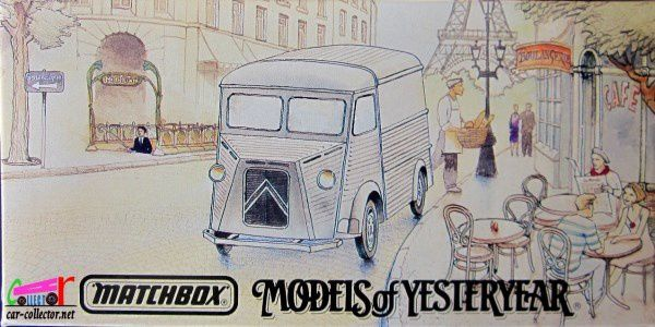 CITROEN TYPE H 1947 EAU EVIAN MATCHBOX 1/43