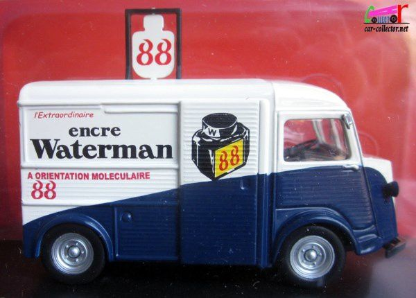 FASCICULE N°33 CITROEN TYPE H ENCRE WATERMANN 88 IXO 1/43