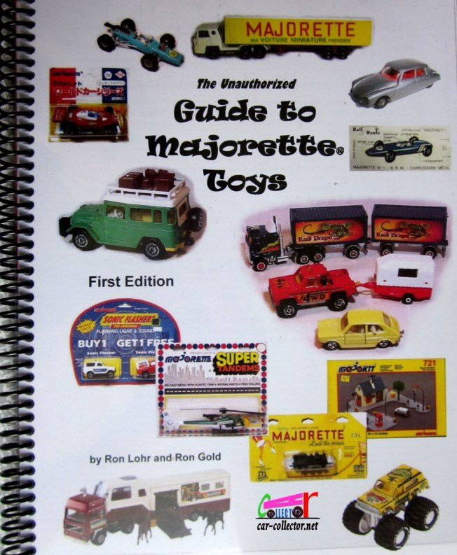 LIVRE GUIDE OF THE MAJORETTE TOYS