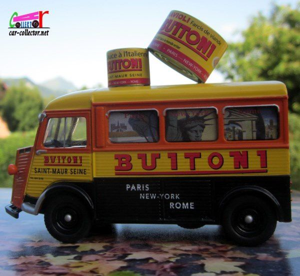 FASCICULE N°37 CITROEN TYPE H BUITONI - PARIS - NEW-YORK - ROME IXO 1-43