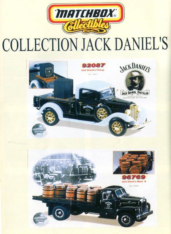 CATALOGUE MATCHBOX COLLECTIBLES ANNEE INCONNUE