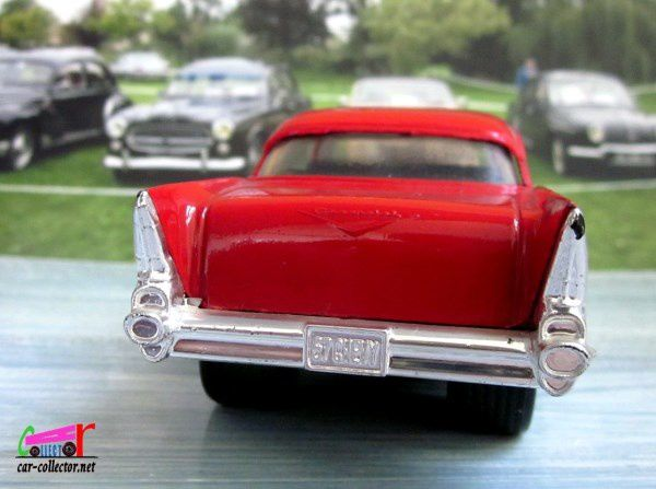 2604. CHEVY 57 HOT ROD MAJORETTE 1/32