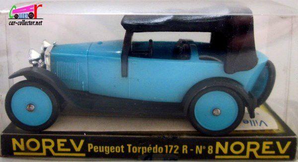 PEUGEOT TORPEDO 172 R 1927 NOREV 1/43
