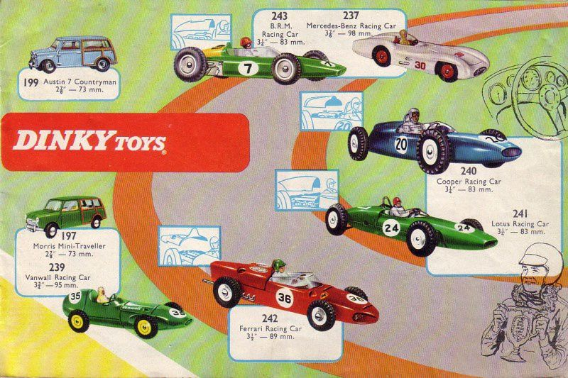 CATALOGUE DINKY TOYS GB 1965