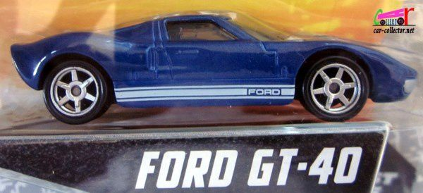 FORD GT-40 FAST AND FURIOUS 5 MATTEL 1/55