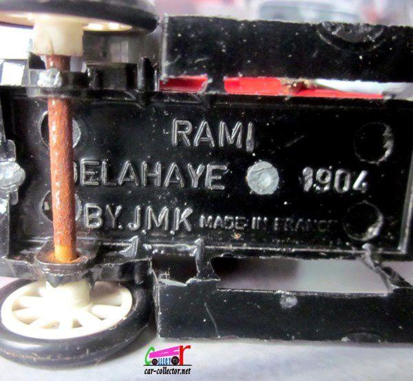 DELAHAYE PHAETON 1904 RAMI 1/43