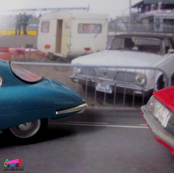 FASCICULE N°8 PANHARD CD COACH 1962 IXO 1/43
